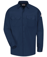 Bulwark Men's FR Button Up Work Shirt