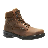 "Men's Wolverine 6"" DuraShocks® Slip Resistant Steel-Toe Work Boot W02053"