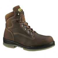 "Wolverine Men's 6"" DuraShocks® Waterproof Insulated Steel-Toe Work Boot W03294"