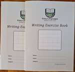 Big Square Exercise book for Chinese writing & Pinyin (set of 2 pcs)