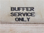 BUFFER SERVICE ONLY