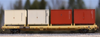 DODX flat with containers