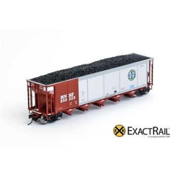 ExactRail BNSF (brown)