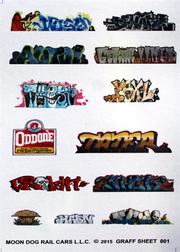 Graffiti Sheet