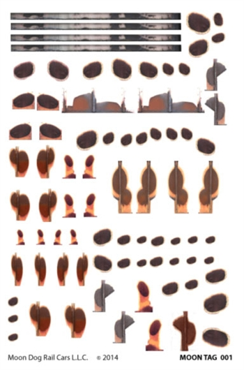 Burn Decal Sheet
