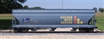 SP Golden West 4650 covered hopper
