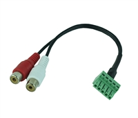 Audio Extraction Cable - 5Pin to 2Ch