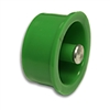 A04664 Button, Green Round
