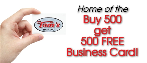 Business cards toms instant printing jacksonville florida be recognizedt remembered reheart Images