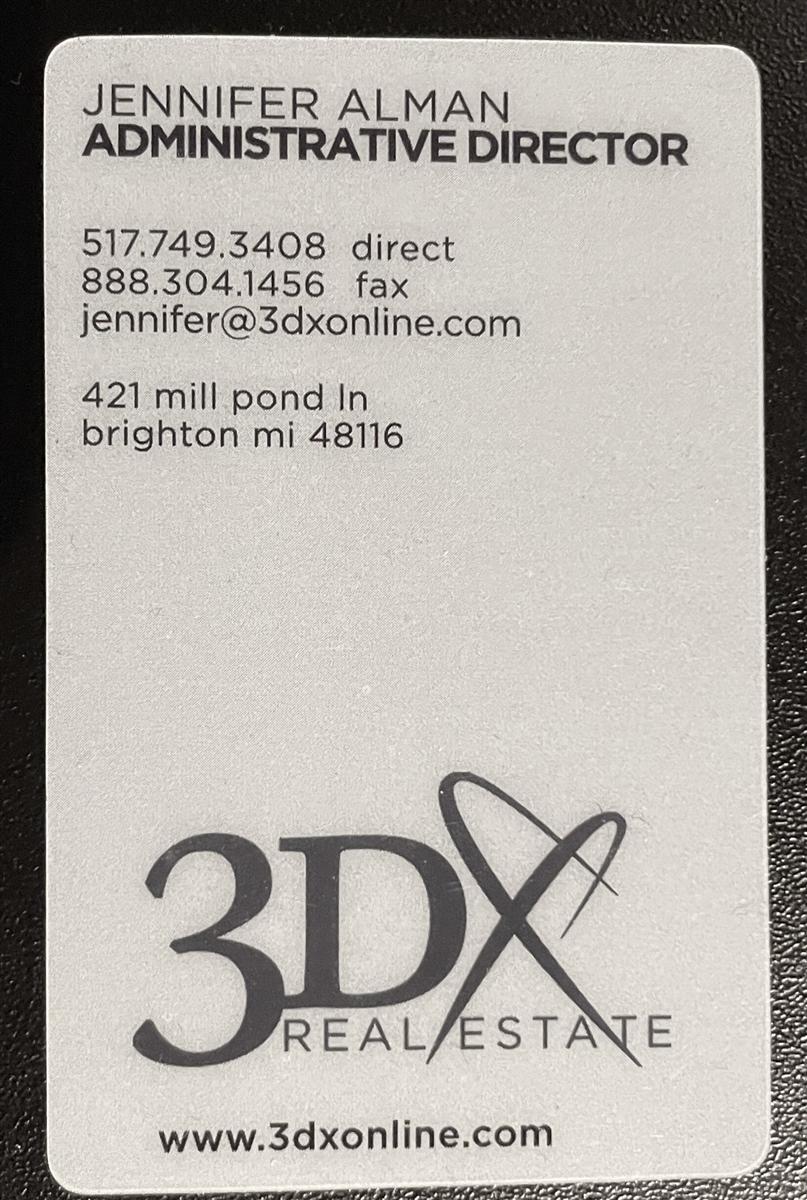 Zen business card for Zen business cards