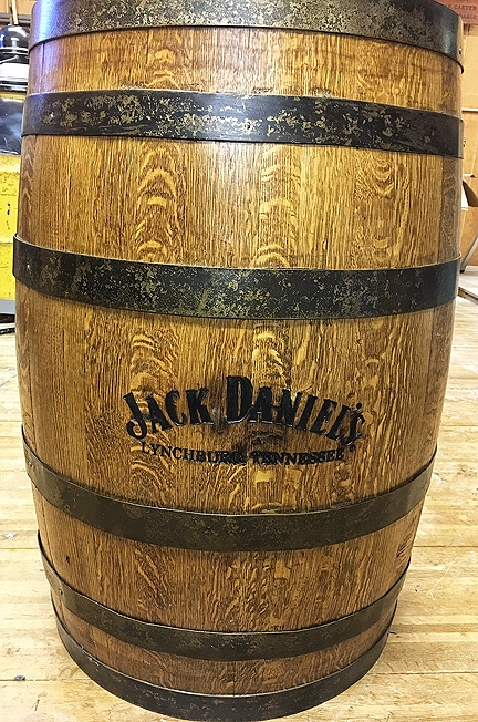 Jack Daniels White Oak Whisky Barrel -  $500.00