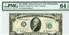 2012-C (CB Block), $10 Federal Reserve Note Philadelphia, 1950B