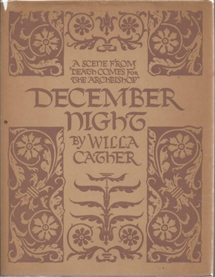 December Night by Willa Cather