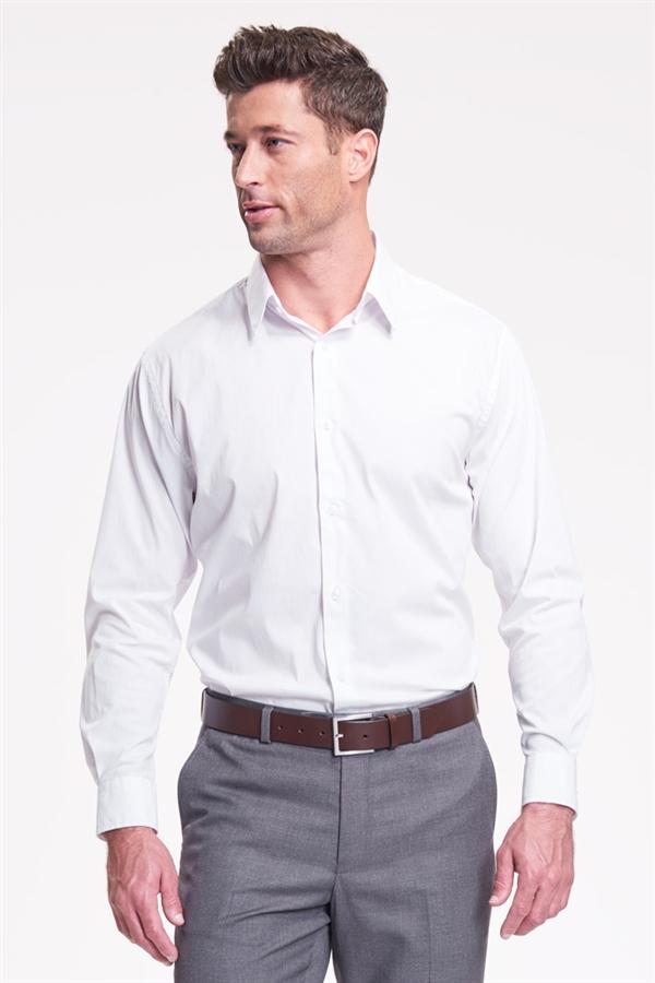 Slim Fit Dress Shirt White