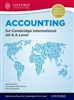 Accounting for Cambridge International AS and A Level Student Book