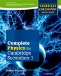 Complete Physics for Cambridge Secondary 1 Student book
