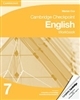 Cambridge Checkpoint English Workbook 7