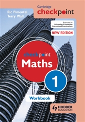 Cambridge Checkpoint Maths Workbook 1