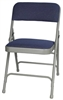 Discount Metal Folding Chairs - Blue Padded Metal Folding Chair - Metal Metal Folding Folding Padded Chairs, Discount Metal Chairs