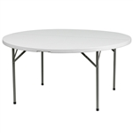 "45"" Wholesale Prices for Round Plastic Folding Tables,"