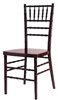 Inexpensive Mahogany Chiavari Chair at Discount Wholesale Prices - Hotel Chiavari Chair