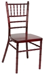 Mahogany WEDDING CHAIRS  Free Shipping Gold Chiavari Aluminum Chair