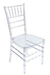 Wholesale Clear Ice Chivari Chairs, Resin Cheap Chiavari Chivari Chairs, Stacking Resin Chiavari Chairs