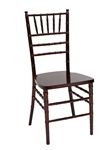 Mahogany Resin Chair -Cheap Resin Chiavari chairs, Miami Resin Chivari Chair,  Resin Ballroom Chairs - Highest Quality Chiavaii chairs