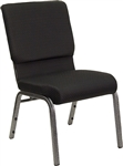 "Black 21"" Quality Church Chapel Chairs -Church Chairs Discount"