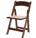 Fruitwood  Wood Folding Chairs Wooden Chairs | Indiana Wholesale Chairs | Hotel Wedding Wooden Chairs