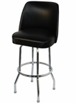 Single Ring Metal Barstool