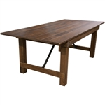 WHOLESALE PRICES FARM TABLES, DISCOUNT FOLDING FARM TABLES.