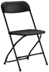 Black Folding Chairs | Texas Plastic Folding Chairs Wholesale Prices