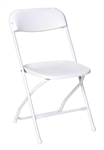 Free Shipping White Folding Chairs | Miami Plastic Folding Chairs | White Folding Chair