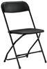 Black Plastic Folding Chair at Discount Wholesale Prices