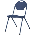 Mity-Lite Stack Chair Blue