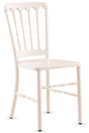 White Metal Versailles Chair at Discount Prices