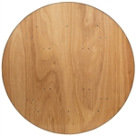 "60"" Plywood Round Folding Tables"
