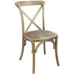 LOWEST PRICESNATURAL CROSS  X BACK CHAIRS