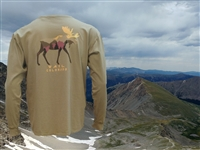 HITCHHIKER MOOSE L/S