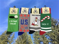 BIGFOOT AND SOCK HARBOR FUNNY SOCKS