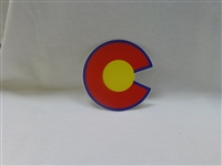 "COLORADO ""C"" STICKER"