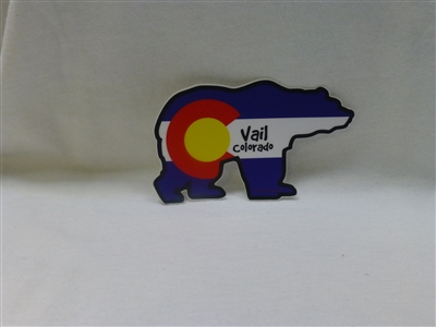 BEAR FLAG STICKER