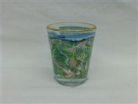 TRAIL MAP SHOT GLASS