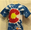 YOUTH COLORADO FLAG TYEDYE