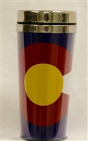 COLORADO FLAG TUMBLER