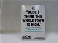 DUDE HIGH STICKER