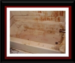 Deep Clean Acid Wash Fiberglass Bathtub