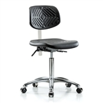 Perch Clean Room Ergonomic Industrial Chair