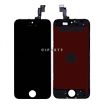 LCD Display Screen + Touch Digitizer Glass Assembly for iPhone SE (Black)